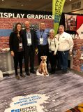 Michelle Bova - HIS Environmental, Joe Wiesinger - Shrewsberry, Brian and Jill Hall - Repro Graphix, and Larry Oliver - Bloodhound